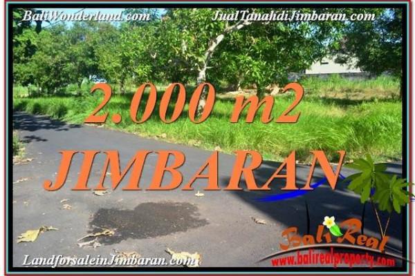 2,000 m2 LAND SALE IN Jimbaran Uluwatu  TJJI114