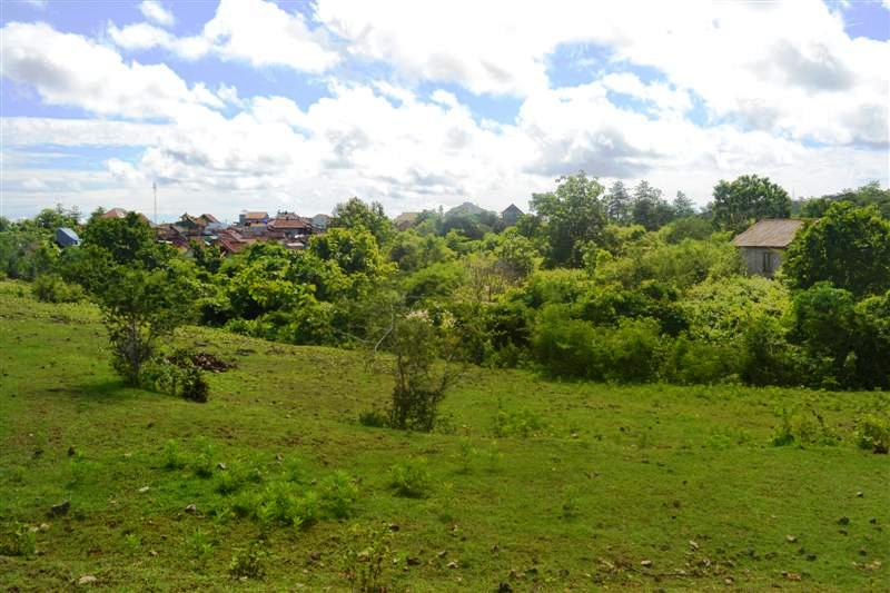 Land for sale in Jimbaran Bali 50 Ares with Hill view
