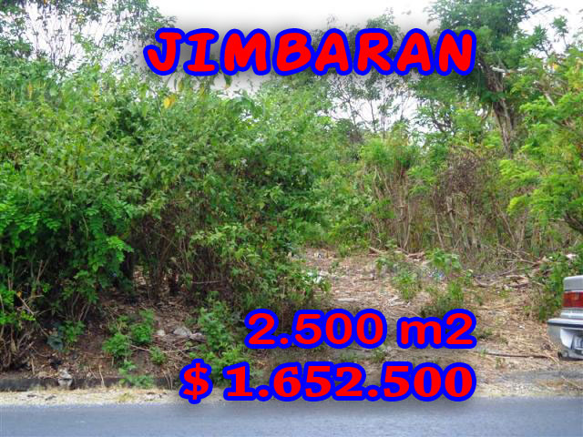 Land for sale in Bali, Unbelievable view in Jimbaran Bali – 2.500 sqm @ $ 661