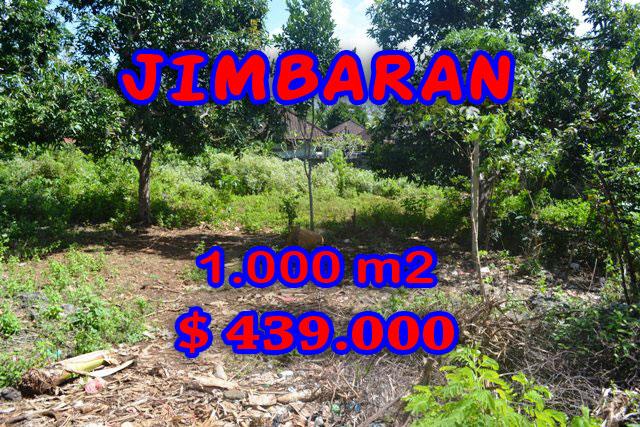 Land for sale in Bali, Fantastic view in Jimbaran Bali – 1.000 m2 @ $ 439