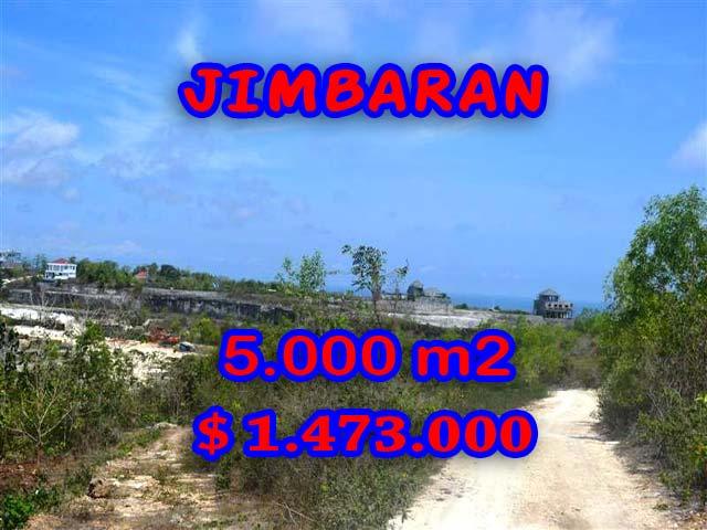 Land for sale in Jimbaran Bali, Great view in Jimbaran Pecatu – TJJI049