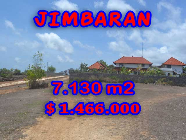 Exotic Land for sale in Jimbaran Bali, Garden View in Jimbaran Ungasan – TJJI048