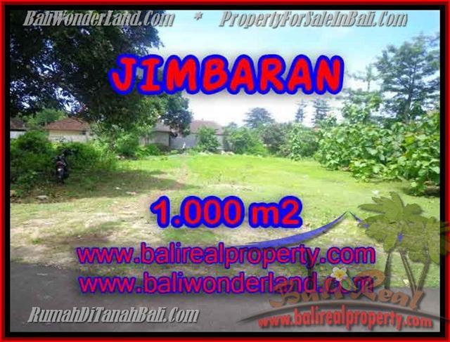 FOR SALE Beautiful PROPERTY 1,000 m2 LAND IN Jimbaran four seasons BALI TJJI063