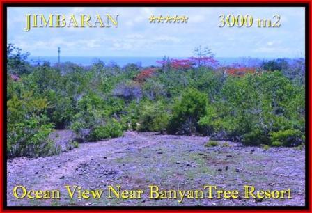 Jimbaran Ungasan BALI 3.000 m2 LAND FOR SALE TJJI090