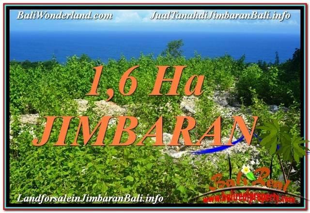 Exotic PROPERTY 16,000 m2 LAND SALE IN Jimbaran Uluwatu  TJJI112