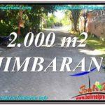 FOR SALE Beautiful LAND IN Jimbaran Uluwatu TJJI115