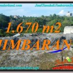 Exotic PROPERTY 1,670 m2 LAND FOR SALE IN Jimbaran Ungasan BALI TJJI116