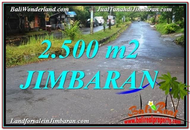 FOR SALE Magnificent PROPERTY 2,500 m2 LAND IN Jimbaran Ungasan BALI TJJI118