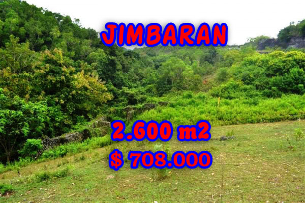 Unbelievable Property in Bali, Land for sale in Jimbaran Bali – 2.600 m2 @ $ 272