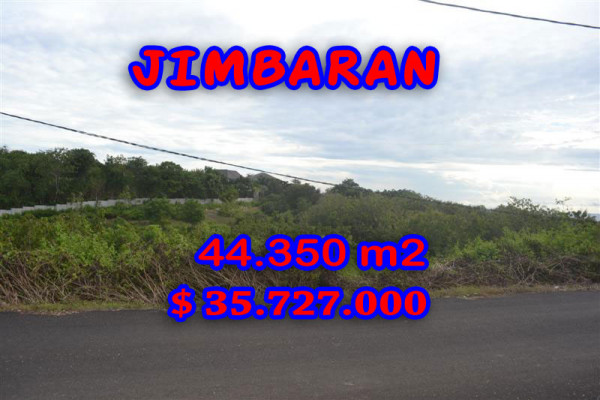 Attractive Property in Bali, Land sale in Jimbaran Bali – 44.350 sqm @ $ 806