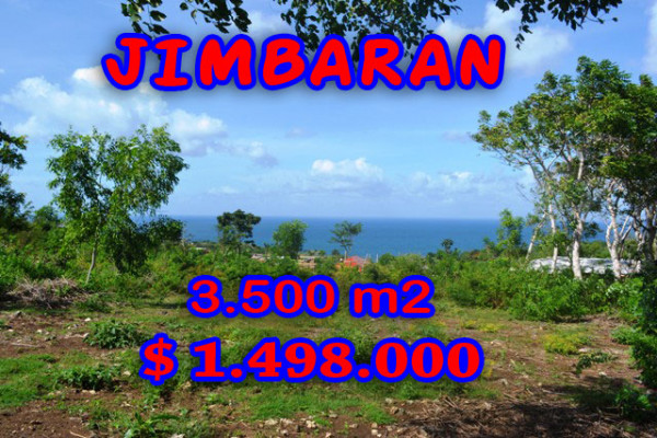 Land in Bali for sale, Excellent Property in Jimbaran Bali – 3.500 sqm @ $ 428