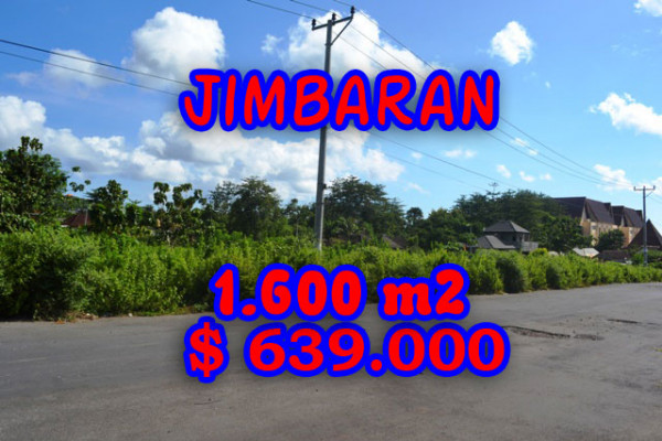 Exceptional Property in Bali, Land for sale in Jimbaran Bali – 1.620 sqm @ $ 394