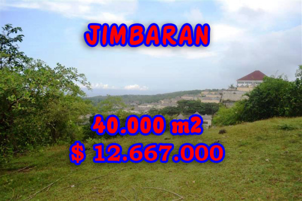 Splendid Property for sale in Bali, Jimbaran land for sale – 40.000 sqm @ $ 317