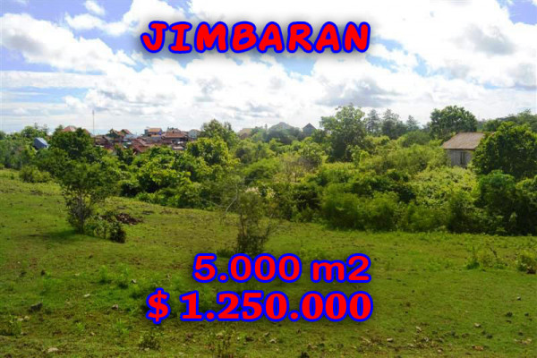 Land for sale in Bali Indonesia, Amazing view in Jimbaran Bali – 5.000 sqm @ $ 250