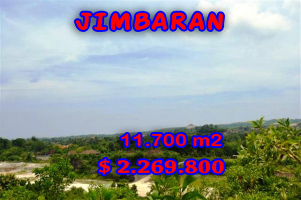 Land for sale in Bali, Exotic view in Jimbaran Bali – 11.700 sqm @ $ 217