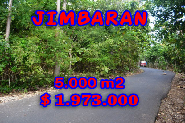 Land for sale in Bali Indonesia, Exceptional property in Jimbaran Bali – 5.000 m2 @ $ 394