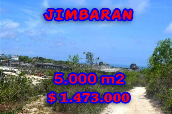 Land for sale in Jimbaran Bali, Great view in Jimbaran Pecatu – TJJI049