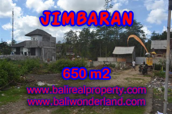 Impressive Property in Bali, Land for sale in Jimbaran Bali – 650 m2 @ $ 325
