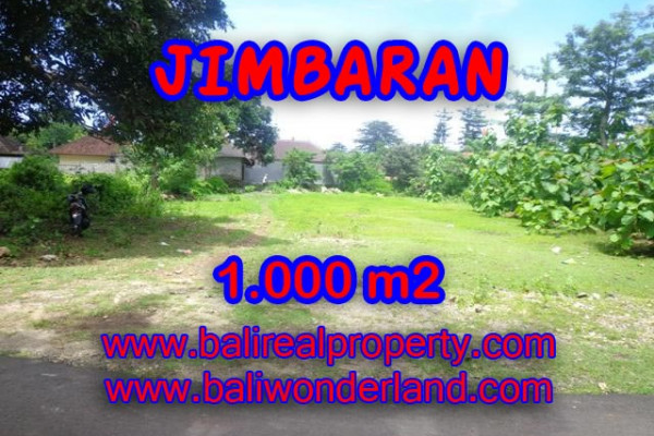 Spectacular Land for sale in Jimbaran Bali, villa environment in Jimbaran four seasons– TJJI063