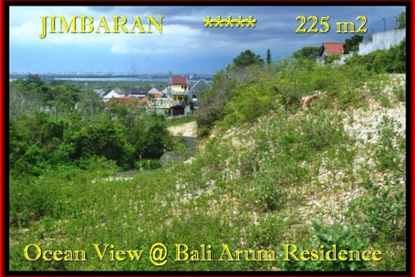 Magnificent PROPERTY Jimbaran Uluwatu BALI 225 m2 LAND FOR SALE TJJI092