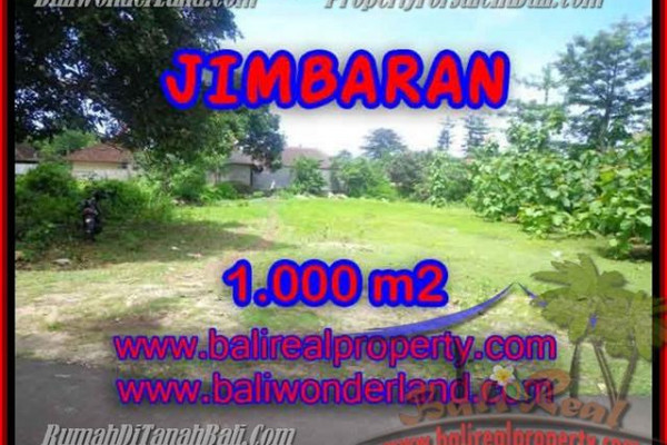 FOR SALE Beautiful PROPERTY 1,000 m2 LAND IN Jimbaran four seasons BALI TJJI063