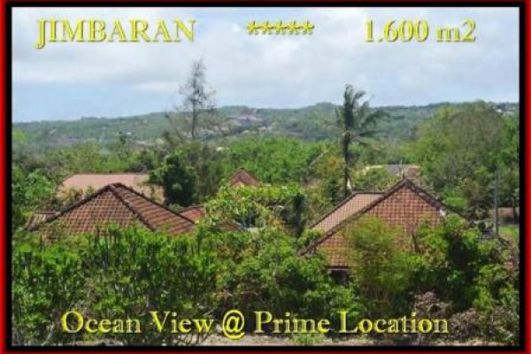 Magnificent PROPERTY 1.600 m2 LAND IN JIMBARAN BALI FOR SALE TJJI089