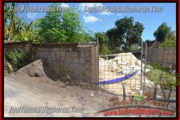Jimbaran Ungasan BALI 200 m2 LAND FOR SALE TJJI081