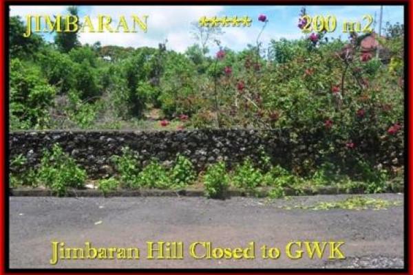 Affordable PROPERTY LAND FOR SALE IN Jimbaran Ungasan BALI TJJI086