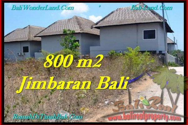 Beautiful PROPERTY 800 m2 LAND SALE IN JIMBARAN TJJI098