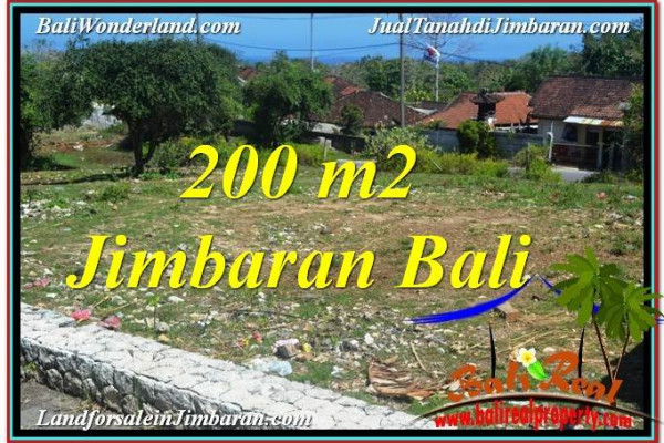 Beautiful PROPERTY 200 m2 LAND SALE IN JIMBARAN BALI TJJI104