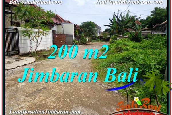 Affordable PROPERTY Jimbaran Ungasan 200 m2 LAND FOR SALE TJJI106