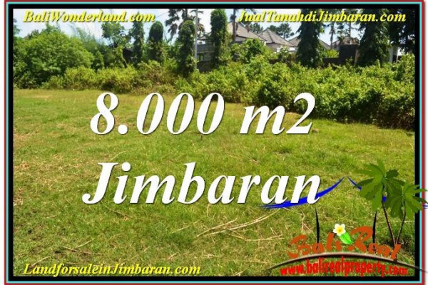 FOR SALE Beautiful 8,000 m2 LAND IN JIMBARAN TJJI109