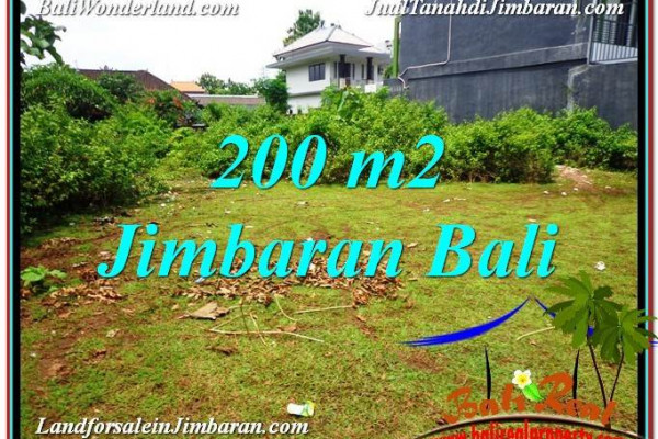 FOR SALE Affordable PROPERTY 200 m2 LAND IN Jimbaran Ungasan TJJI107