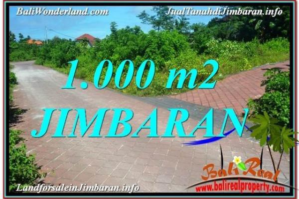Affordable PROPERTY 1,000 m2 LAND FOR SALE IN JIMBARAN BALI TJJI111