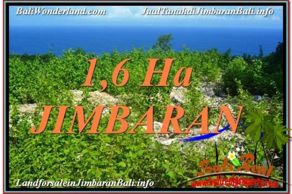 Exotic PROPERTY 16,000 m2 LAND SALE IN Jimbaran Uluwatu  TJJI112