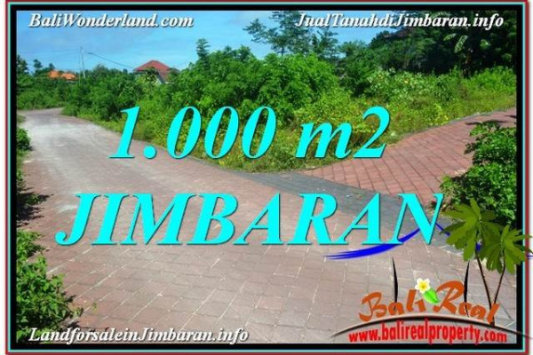 Exotic LAND IN JIMBARAN BALI FOR SALE TJJI111