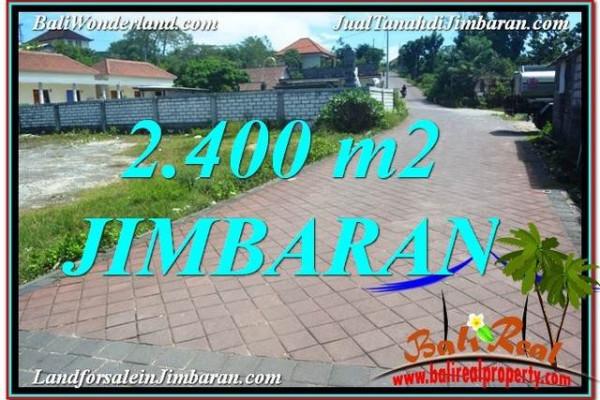 Magnificent 2,400 m2 LAND SALE IN Jimbaran Uluwatu  TJJI110