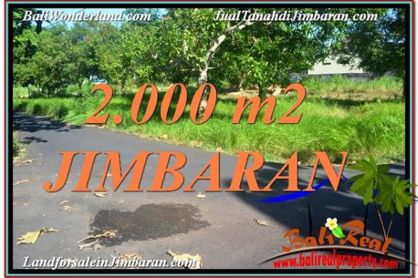 FOR SALE Magnificent 2,000 m2 LAND IN JIMBARAN TJJI114