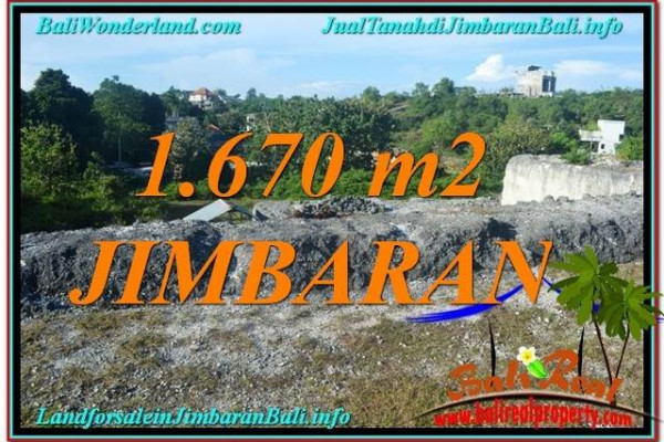 Exotic JIMBARAN 1,670 m2 LAND FOR SALE TJJI116