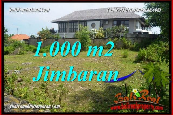 Beautiful PROPERTY 1,000 m2 LAND IN Jimbaran Ungasan FOR SALE TJJI123