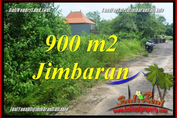 Magnificent PROPERTY JIMBARAN BALI 900 m2 LAND FOR SALE TJJI124