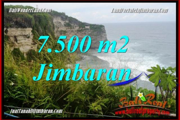 Exotic Jimbaran Uluwatu  7,500 m2 LAND FOR SALE TJJI126