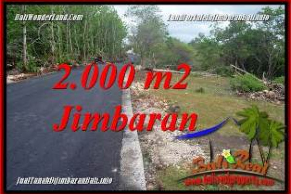 Exotic PROPERTY 2,000 m2 LAND IN JIMBARAN UNGASAN BALI FOR SALE TJJI133B