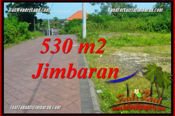 FOR SALE Magnificent 530 m2 LAND IN JIMBARAN ULUWATU TJJI127