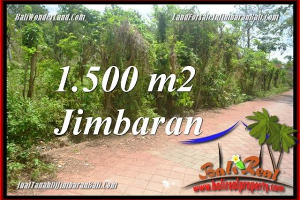 Affordable PROPERTY 1,500 m2 LAND SALE IN JIMBARAN ULUWATU TJJI128