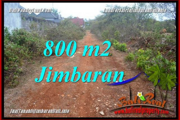 FOR SALE Exotic 800 m2 LAND IN JIMBARAN BALI TJJI129