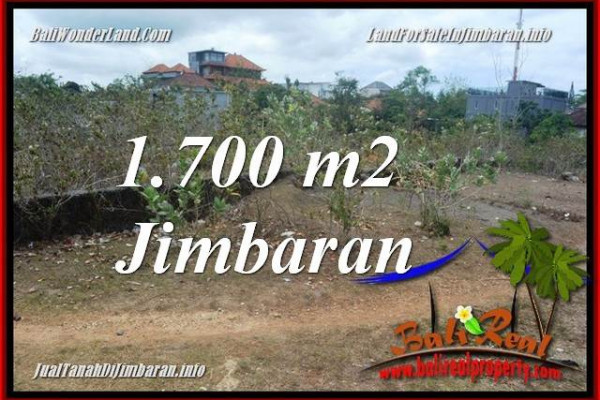 Magnificent PROPERTY 1,700 m2 LAND SALE IN JIMBARAN TJJI130