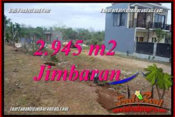 FOR SALE Affordable 2,945 m2 LAND IN JIMBARAN UNGASAN TJJI132