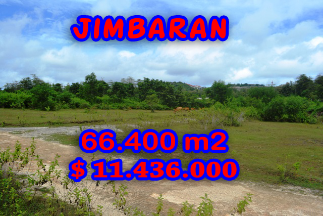 Astounding Property for sale in Bali, Land in Jimbaran for sale– 66.400 sqm @ $ 172