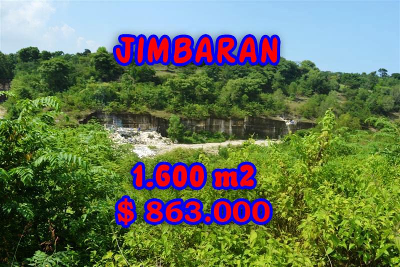 Impressive Property in Bali, Land sale in Jimbaran Bali – 1.600 m2 @ $ 539
